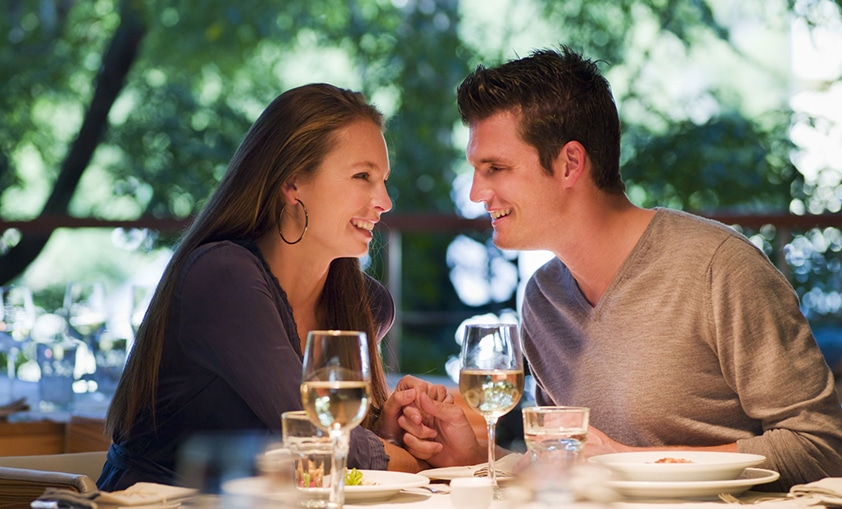 Choose restaurant for a first date